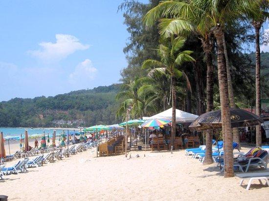 Kamala Beach : La plage