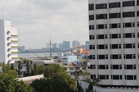 Nova Platinum Hotel Pattaya: Вид с балкона