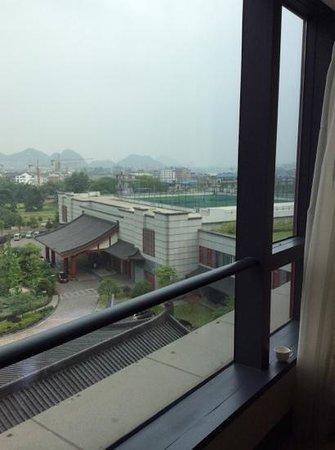Shangri-La Hotel Guilin: vue de la chambre