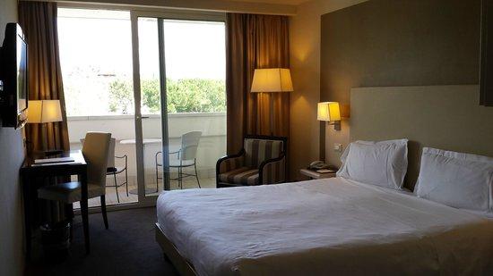 Villa Rosa Hotel: Interno stanza