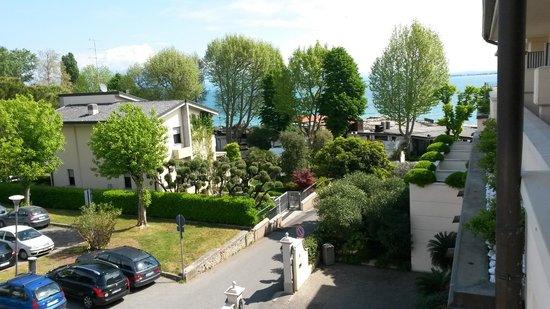 Villa Rosa Hotel: Panorama dalla stanza