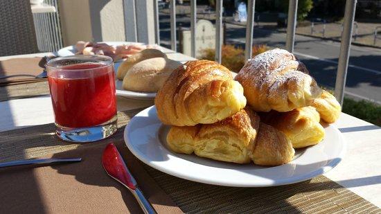 Villa Rosa Hotel: Prima colazione