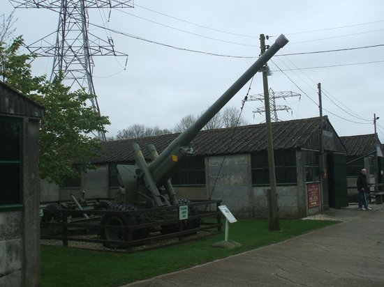Eden Camp: an army gun