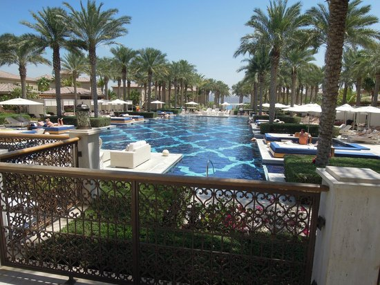 One&Only The Palm Dubai: piscine