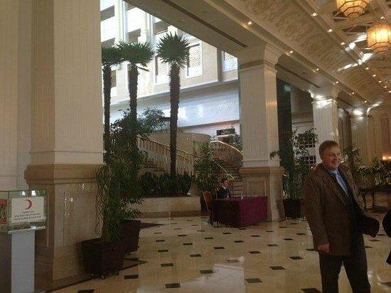 Rixos President Astana Hotel : Лобби