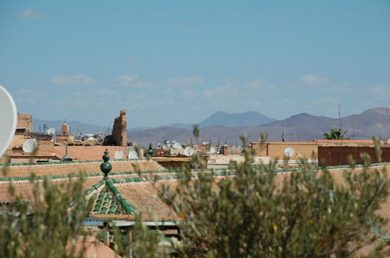 Riad Talaa 12 : view from rooftop
