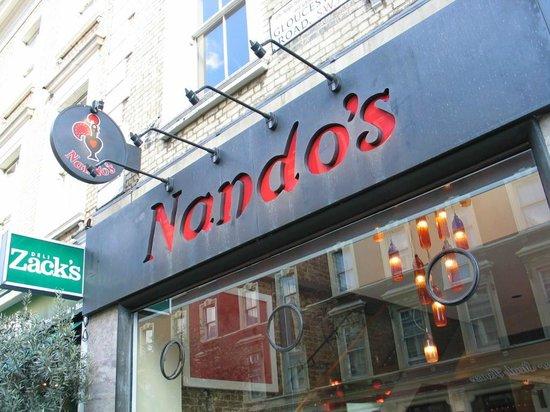 Nando's: Outside Nandos