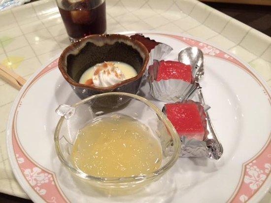 Royal Okayama Hotel: デザート