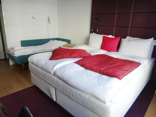 Radisson Blu Plaza Hotel, Helsinki: Спальное место для ребенка