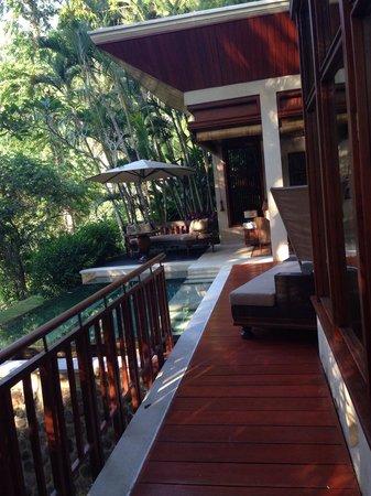 Four Seasons Resort Bali at Sayan: Terrasse 1