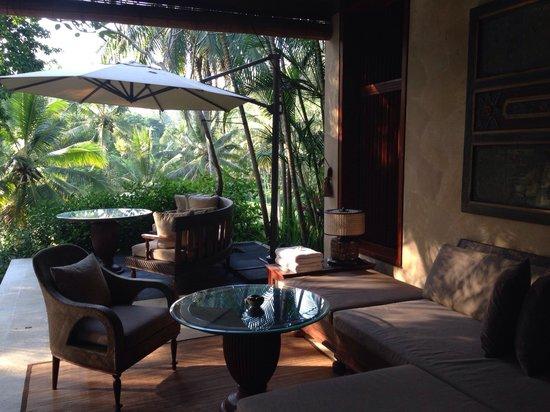 Four Seasons Resort Bali at Sayan: Terrasse 2