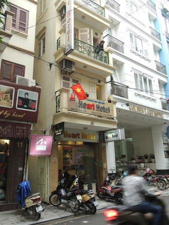 Heart Hotel : Hotelfront