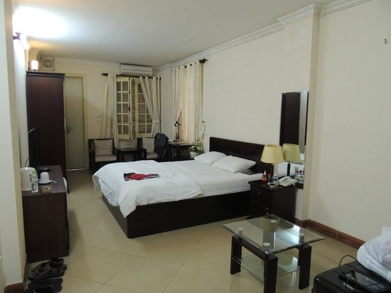 Heart Hotel : Einfach aber nett eingerichtet !