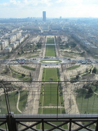 Tour Eiffel : View from Eiffel Tower