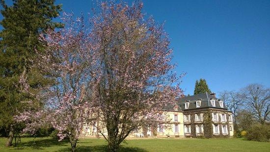 Gite de la Hulotte - Chateau de La Noe Vicaire : Printemps
