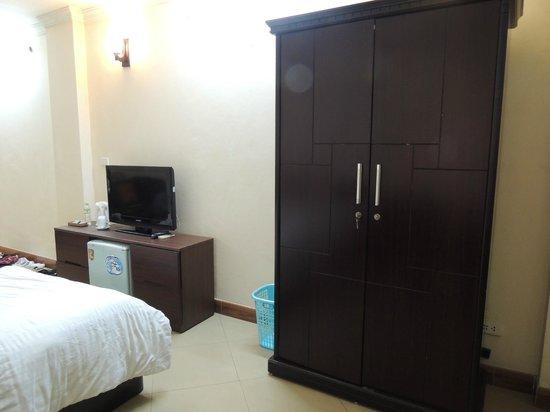 Heart Hotel : Einfach aber nett eingerichtet
