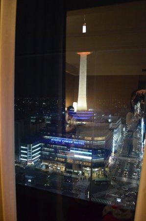 Hotel Granvia Kyoto : Night view