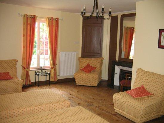 Gite de la Hulotte - Chateau de La Noe Vicaire : Une chambre