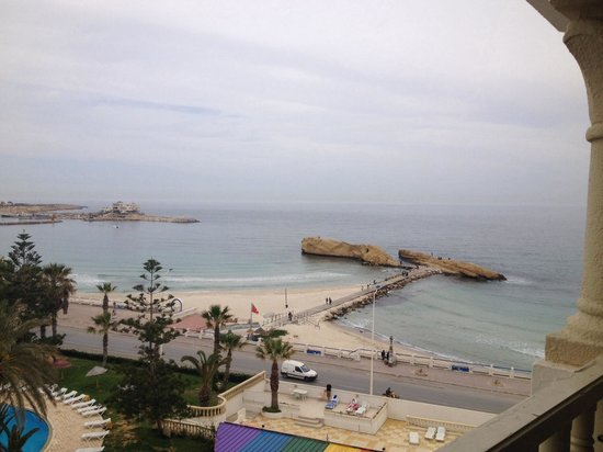 Delphin El Habib : Sea view from the room