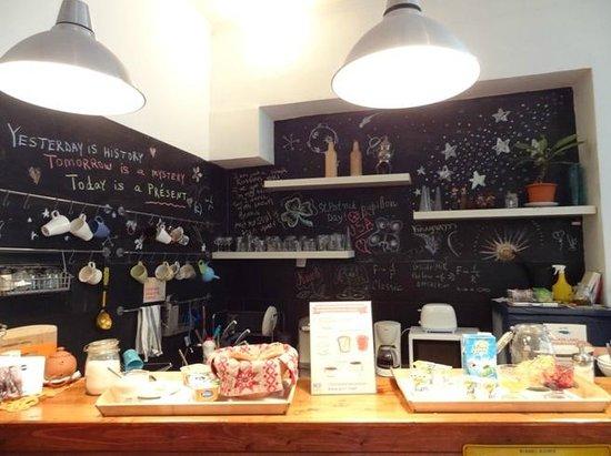 Mir Hostel Nevskiy: Кухня и завтрак