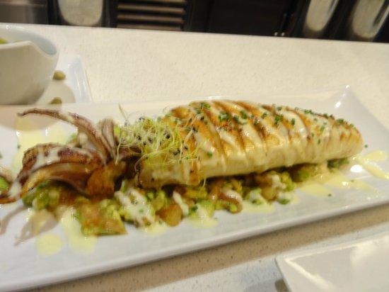 La Azotea Gran Poder: Grilled Squid of the Day