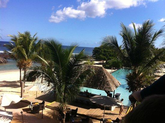InterContinental Mauritius Resort Balaclava Fort : vue de la réception