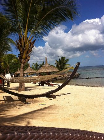 InterContinental Mauritius Resort Balaclava Fort : vue sur le hamac