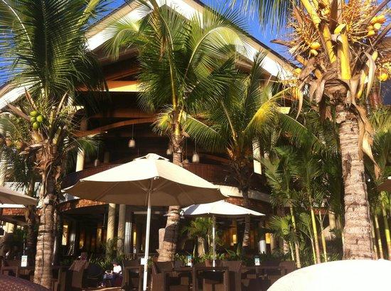 InterContinental Mauritius Resort Balaclava Fort : l'hôtel vu de la plage