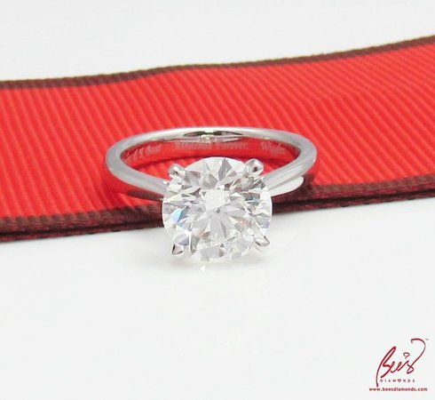 Simple But Elegant 2 14 Carats Diamond Engagement Ring Bee S