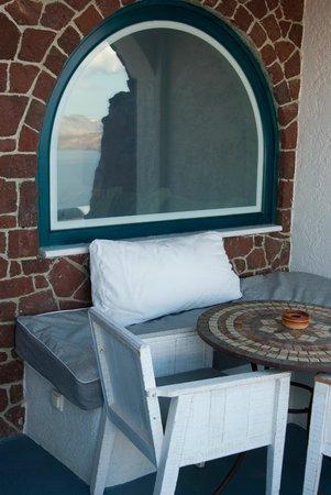 Astarte Suites: Балкон