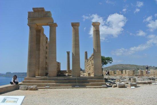 Lindos : encore le site antique