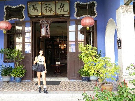 Cheong Fatt Tze - The Blue Mansion: Main Entrance