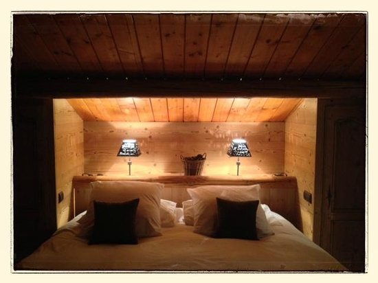 Le Pré Oudot : Bed room