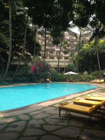 The Oberoi, Bangalore: Pool by day
