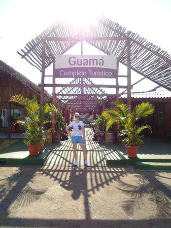 Horizontes Villa Guama: Вход в деревню