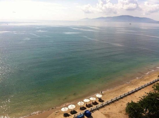 Fairy Bay Hotel Nha Trang : view for the hotel restaurant