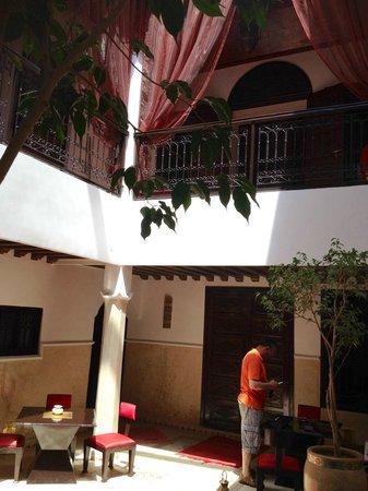 Riad Argan : patio