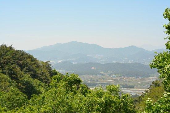 Seokguram: The view near the top