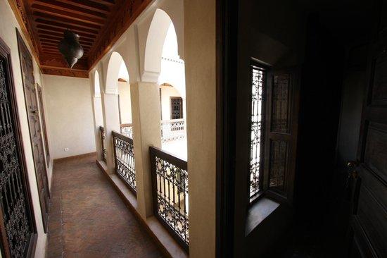Riad Dar Selen : depuis l'étage
