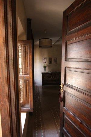 Riad Dar Selen : l'entrée d'une chambre