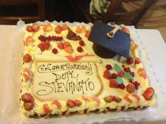 Torta Di Laurea Foto Di Pasticceria Da Re Di Tessari