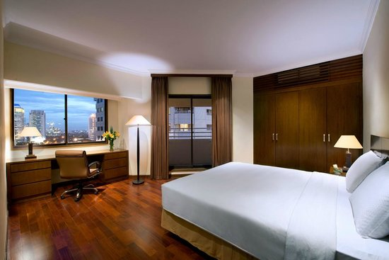 The Sultan Hotel & Residence Jakarta: Bedroom Residence