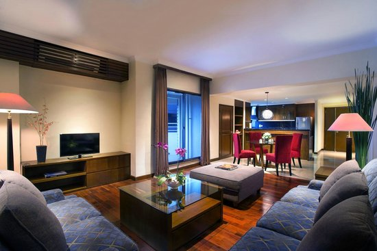 The Sultan Hotel & Residence Jakarta: Living room