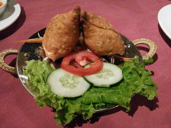 Ganesh: Very tasty Samosas