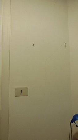 6 Small Rooms B & B: Le mur