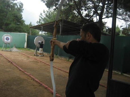 Isil Club Bodrum : deniz  tir a l'arc
