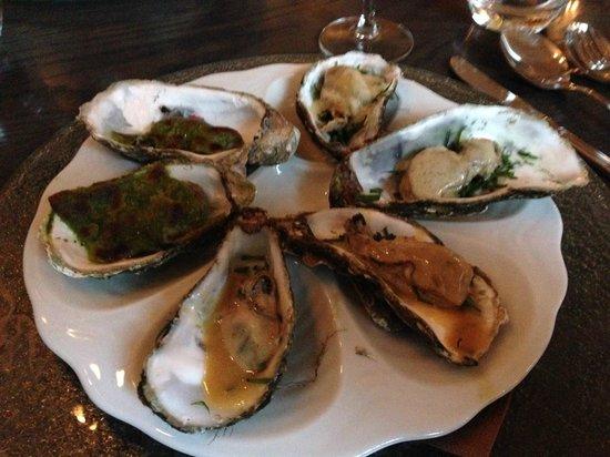 De Beuze : Variationen von der Auster