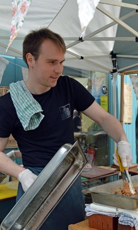 The Smokehouse: Chef Liam Watson at Westival (Sun 4th May 2014)