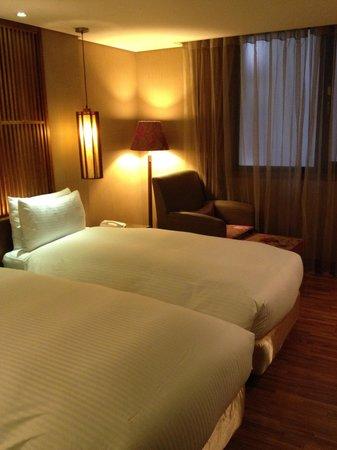 Lealea Garden Hotels-Taipei: Deluxe room on the 7th floor