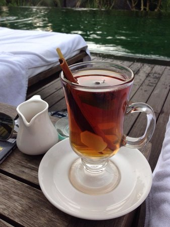 Komaneka at Bisma : When I was ill, I got complementary herbal tea (think it did really help me to get better :)
